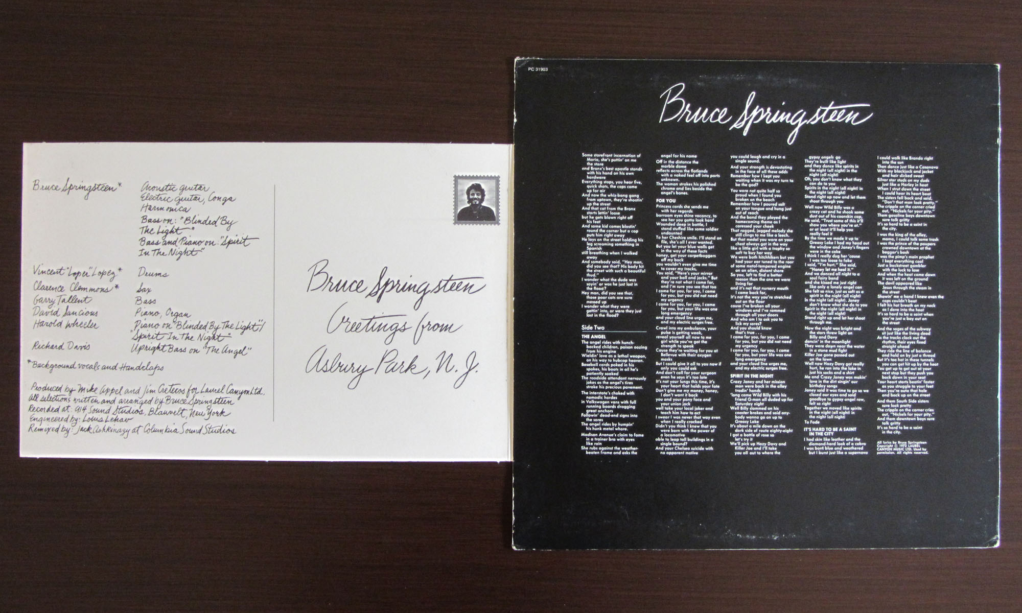 Bruce springsteen collection greetings from asbury park nj pages m4hsunfo Gallery