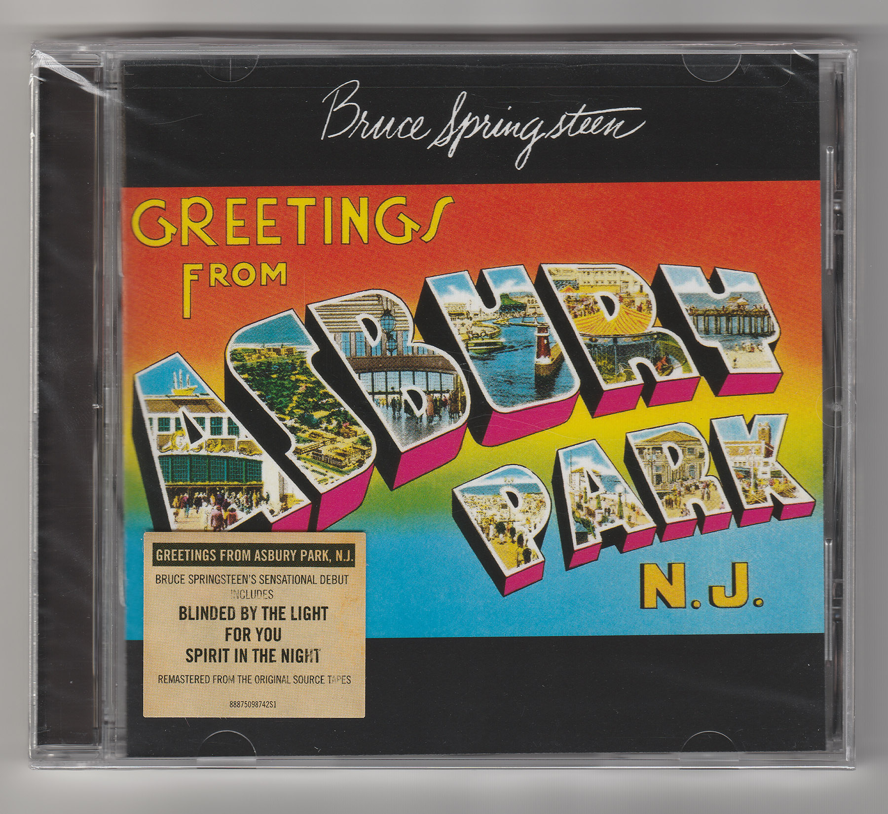 Bruce springsteen collection greetings from asbury park nj 2015 pages m4hsunfo