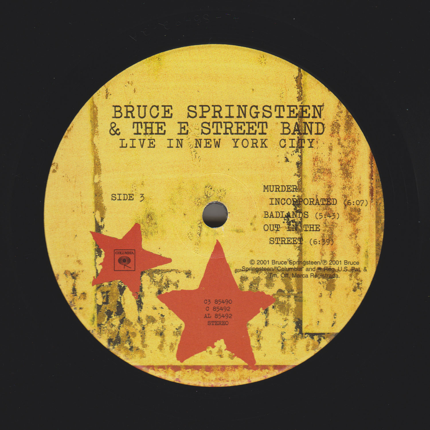 Bruce Springsteen Collection Live In New York City