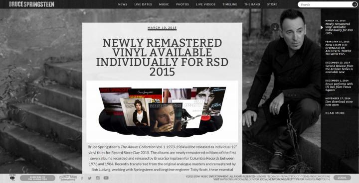 Springsteen dating site wat uw teken over uw het dateren gewoonten zegt