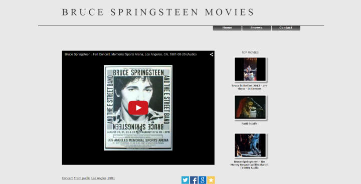 Bruce Springsteen Movies