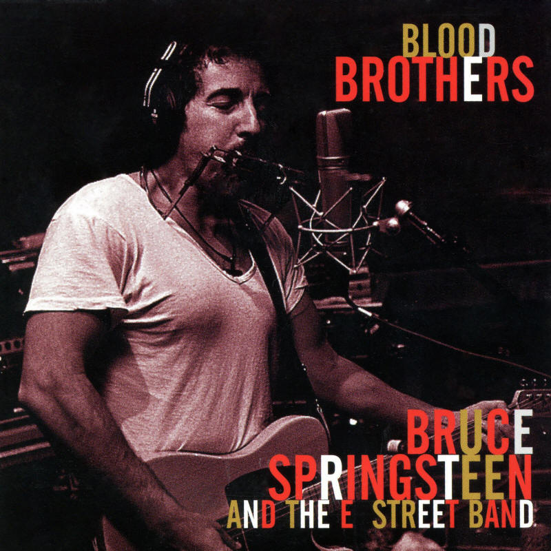 Bruce Springsteen & The E Street Band -- Blood Brothers (EP cover art)