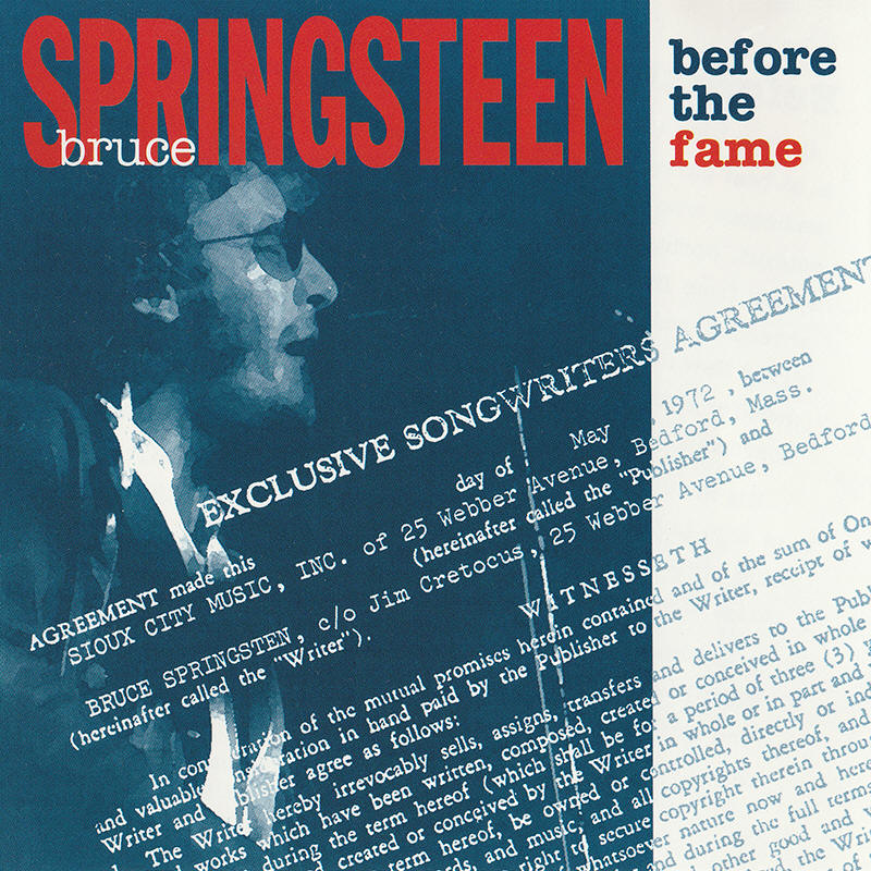 Bruce Springsteen -- Before The Fame (Pony Express Records, first issue)