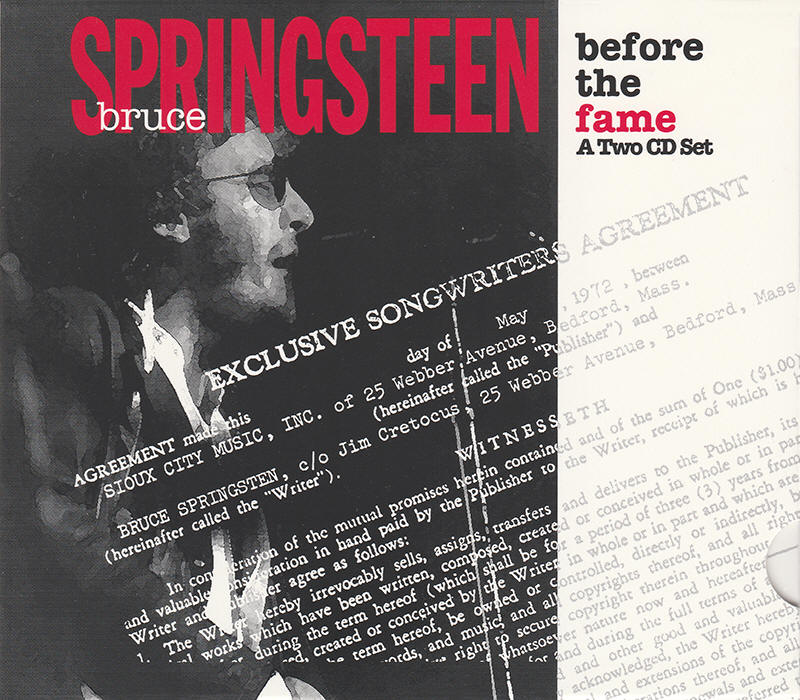 Bruce Springsteen -- Before The Fame (Pony Express Records, third issue)