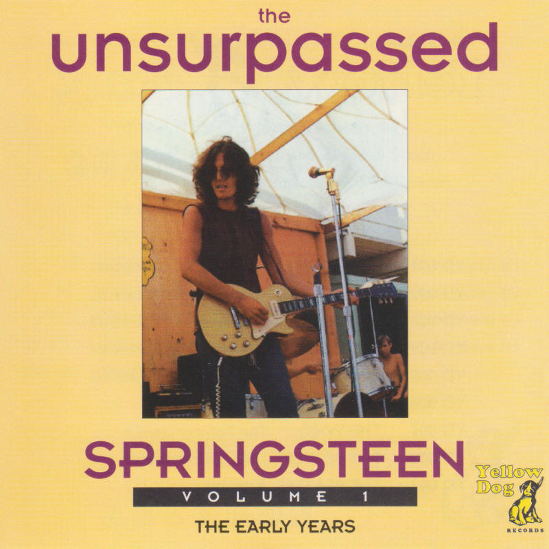 Bruce Springsteen -- The Unsurpassed Springsteen Volume 1 (Yellow Dog Records)