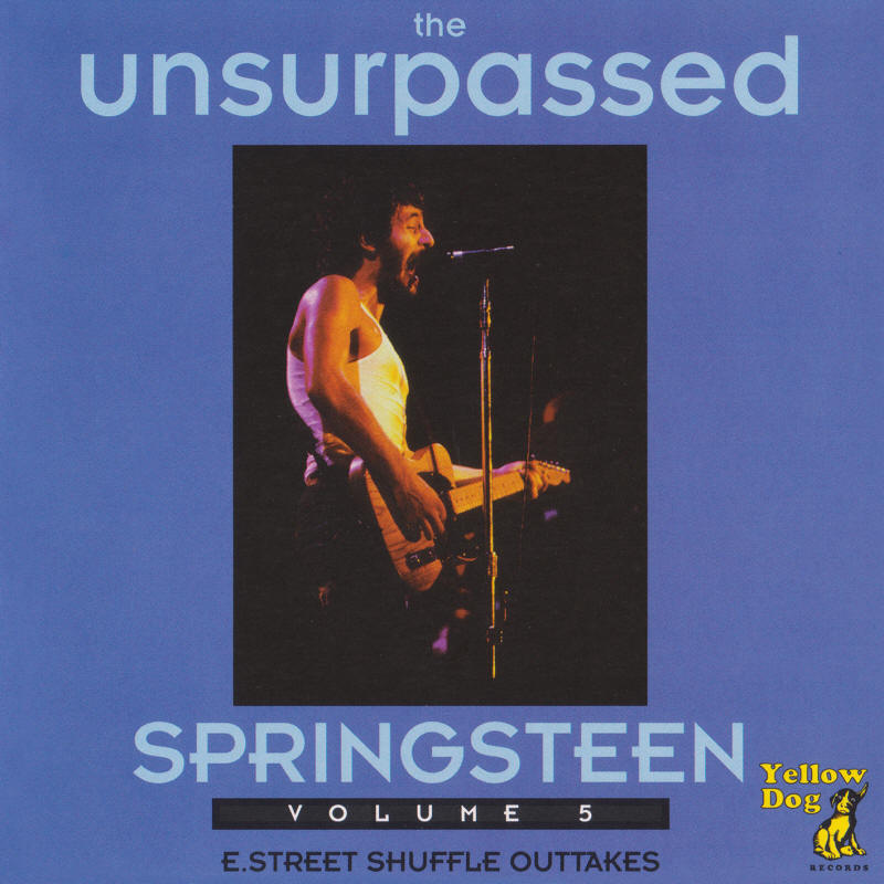 Bruce Springsteen -- The Unsurpassed Springsteen Volume 5 (Yellow Dog Records)