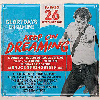 Various artists -- Glory Days In Rimini - Keep On Dreaming