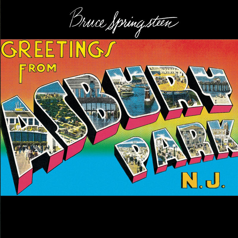 Bruce Springsteen -- Greetings From Asbury Park, N.J.