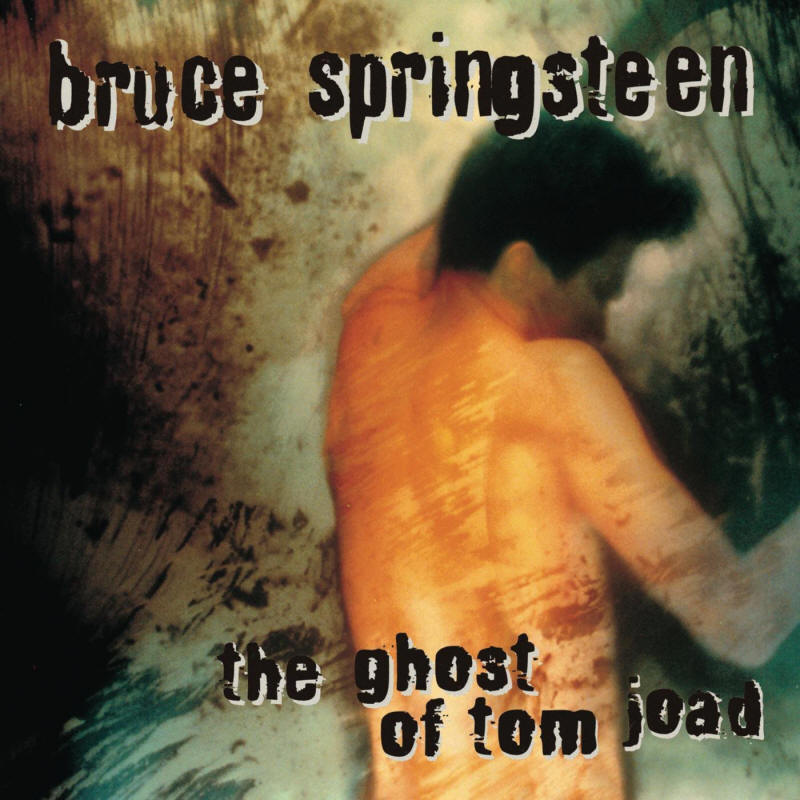 Bruce Springsteen -- The Ghost Of Tom Joad (album cover art)