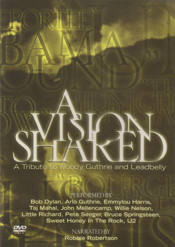 Various artists -- A Vision Shared - A Tribute To Woody Guthrie And Leadbelly