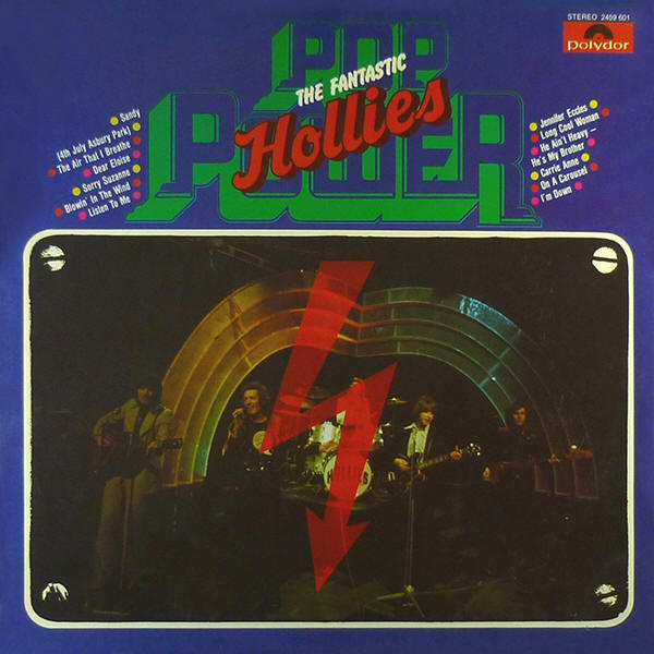 The Hollies -- Pop Power - The Fantastic Hollies