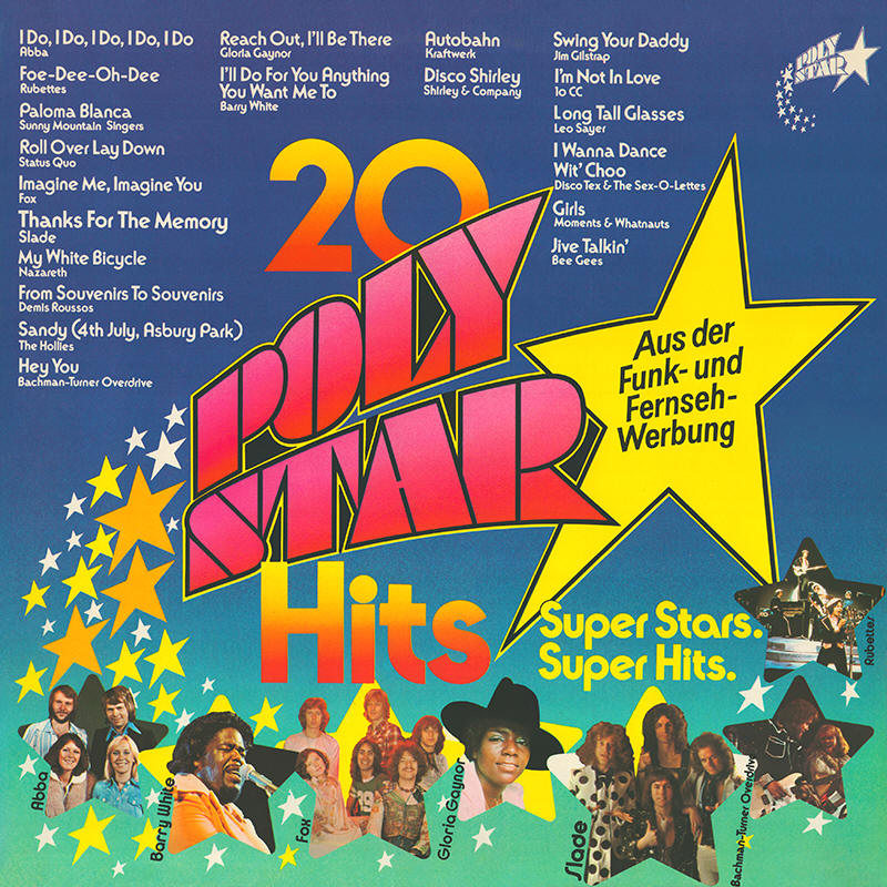 Various artists -- 20 Poly Star Hits