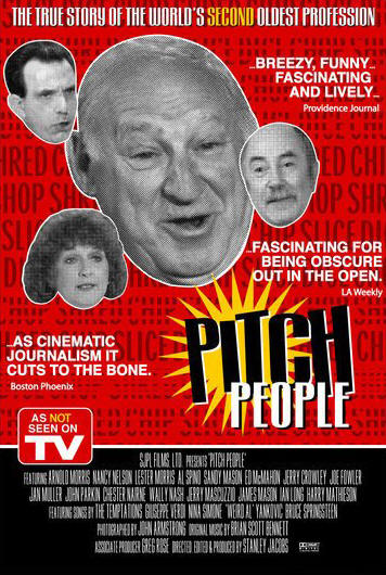 "Promotional poster for the film ""Pitch People"""