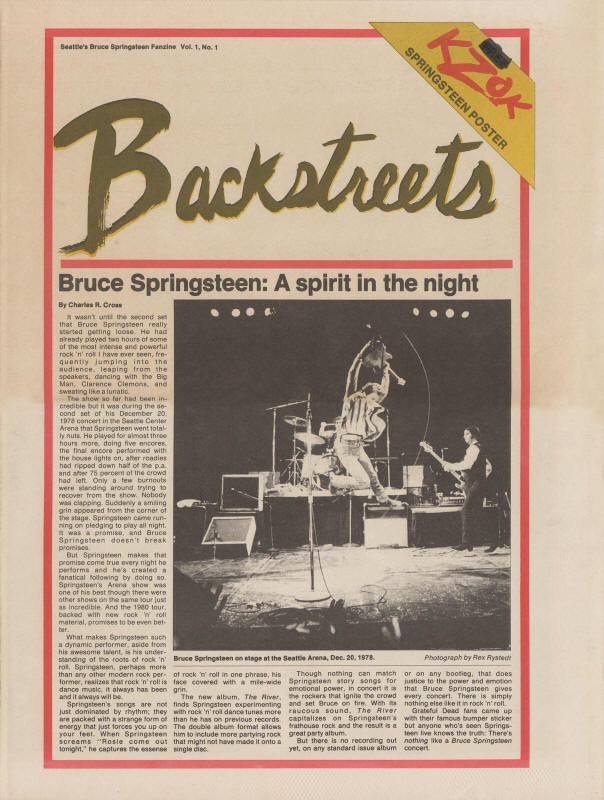 Bruce Springsteen Lyrics: BACKSTREETS [Album version]