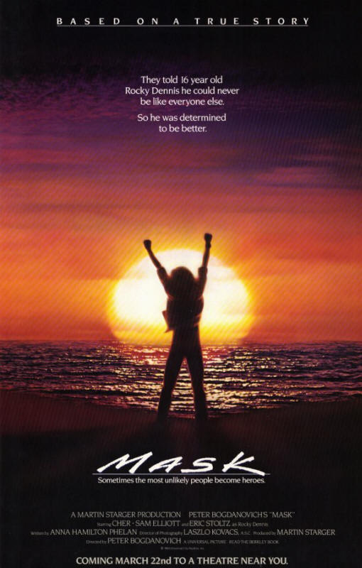 "Promotional poster for the film ""Mask"""