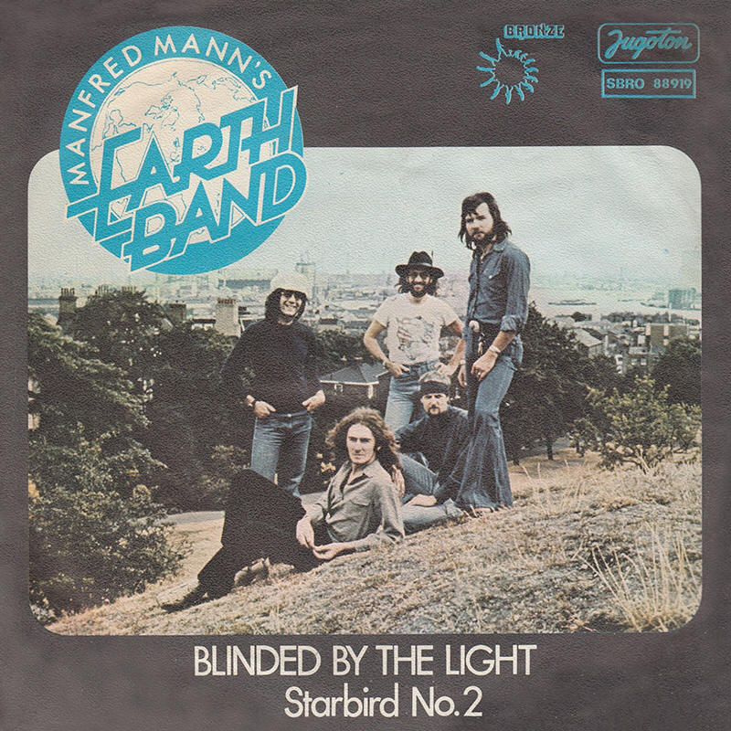 bruce springsteen lyrics  blinded by the light  manfred