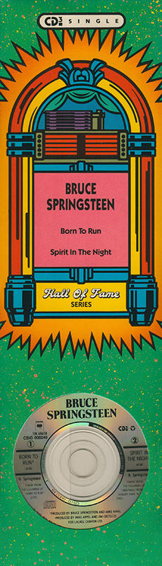 "Bruce Springsteen -- ""Born To Run / Spirit In The Night"""