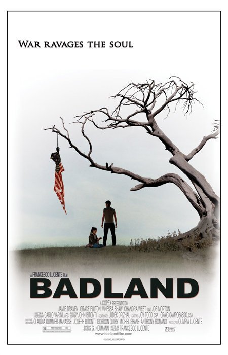 "Promotional poster for the film ""Badlands"""