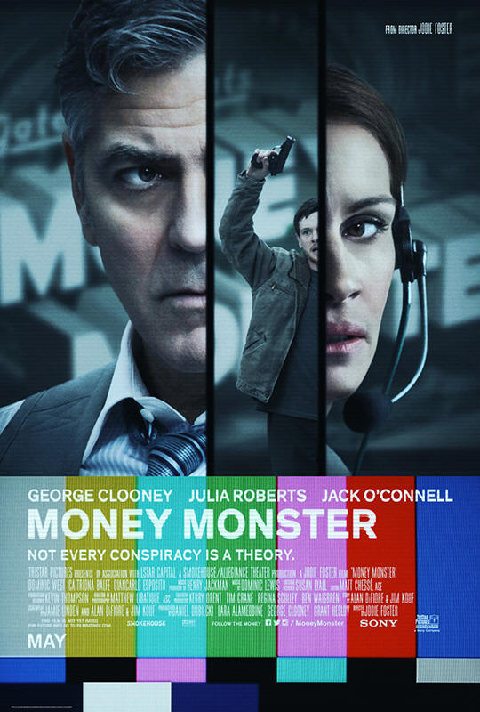 "Promotional poster for the film ""Money Monster"""