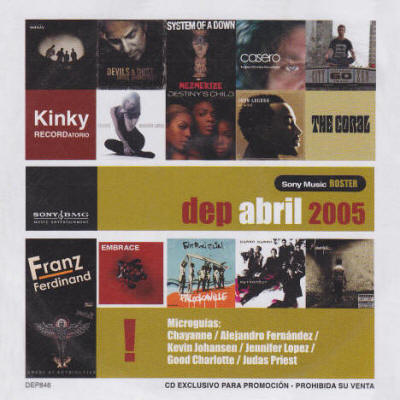 Various artists -- Dep Abril 2005