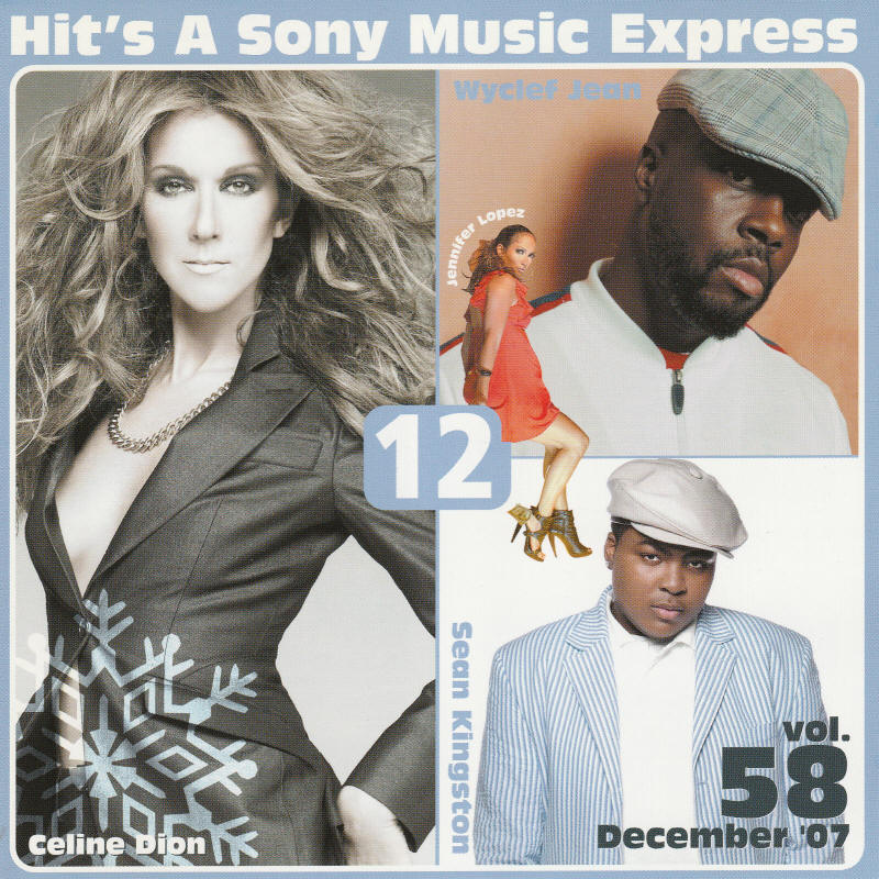 Various artists -- Hit's A Sony Music Express Vol. 58 December 2007
