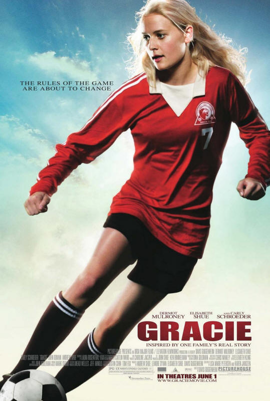 "Promotional poster for the film ""Gracie"""