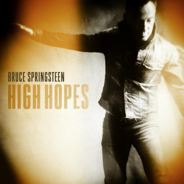 Bruce Springsteen -- High Hopes (single cover art)