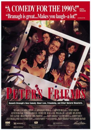 "Promotional poster for the film ""Peter's Friends"""