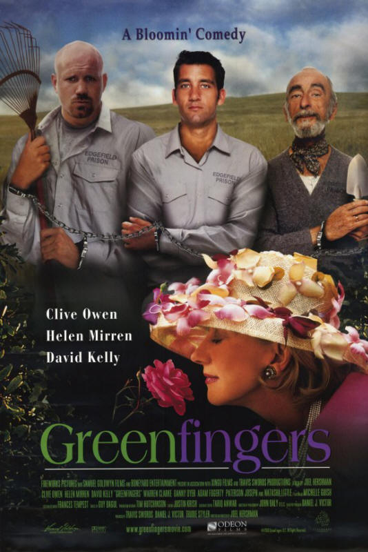"Promotional poster for the film ""Greenfingers"""
