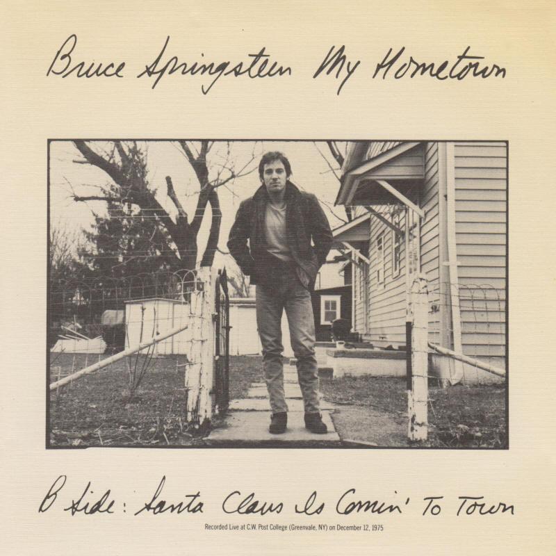 Bruce Springsteen Lyrics: MY HOMETOWN [Album version]