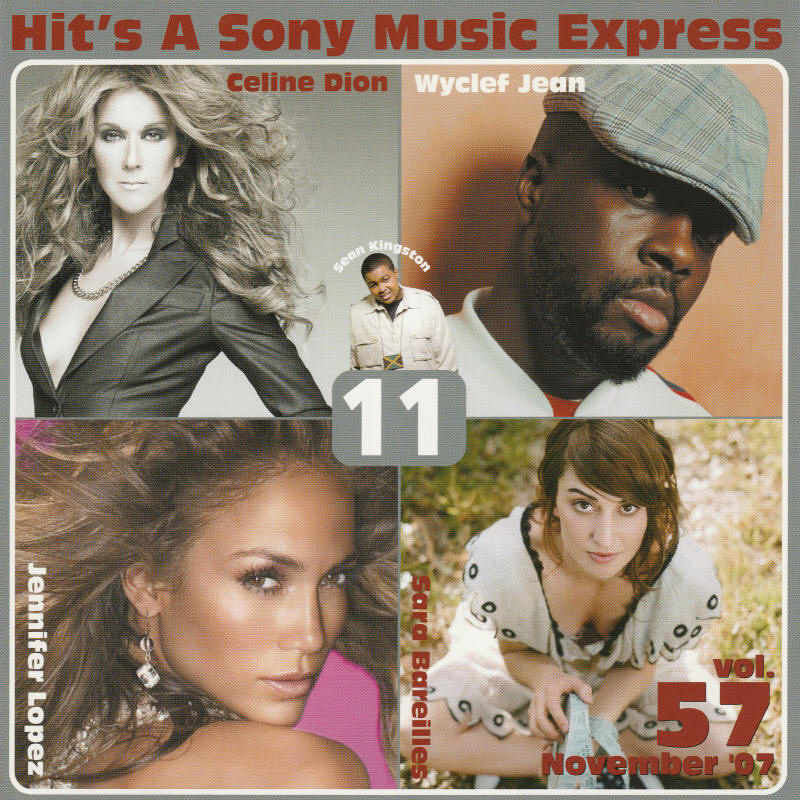 Various artists -- Hit's A Sony Music Express Vol. 57 November 2007