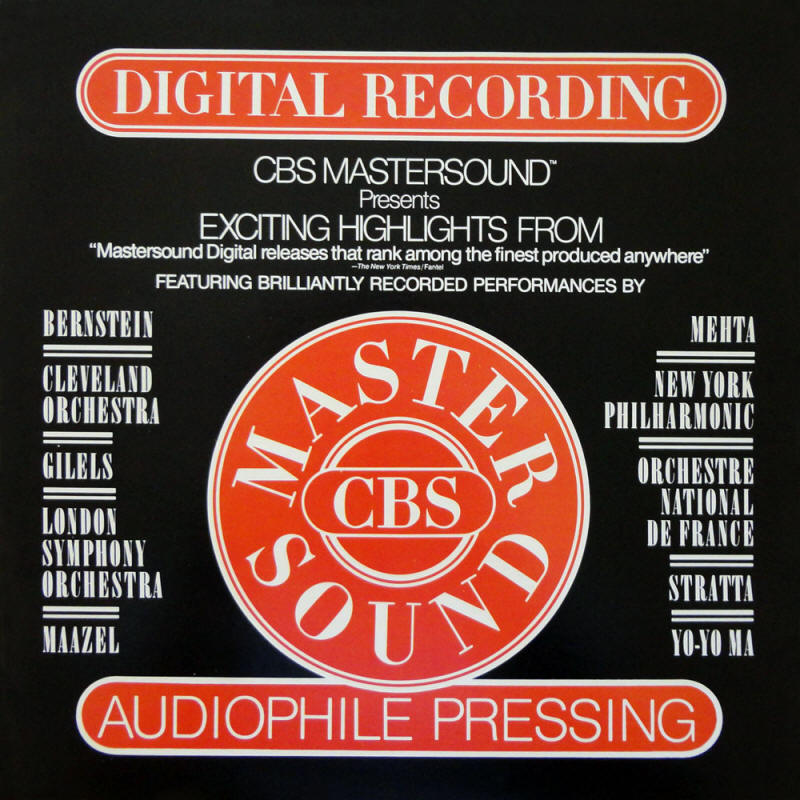 Various artists -- Exciting Highlights From CBS Mastersound