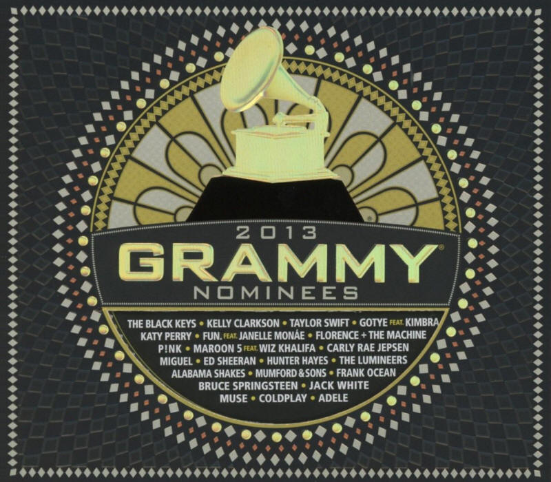 Various artists -- 2013 Grammy Nominees