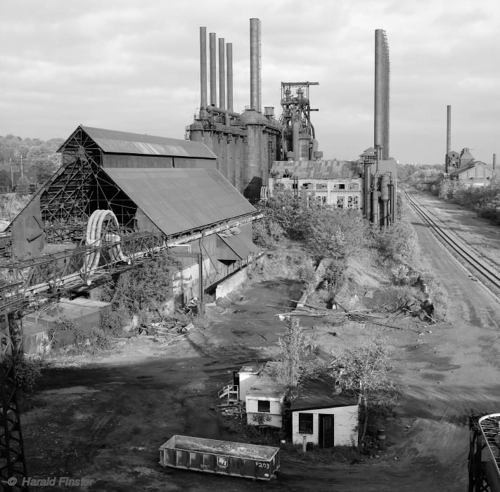 The Jeanette Blast Furnace in 1992