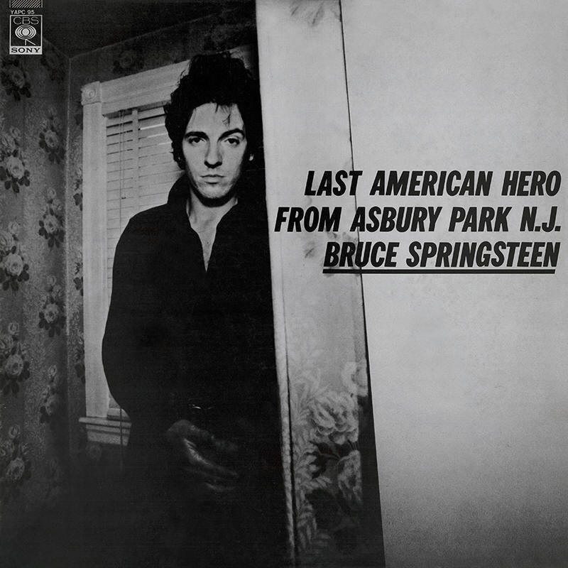 Bruce Springsteen -- Last American Hero From Asbury Park, N.J. (sampler cover art)