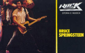 Bruce Springsteen -- Storia E Musica Rock: Bruce Springsteen (sampler cover art)