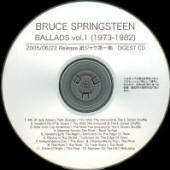 Bruce Springsteen -- Ballads Vol. 1 (1973 - 1982)